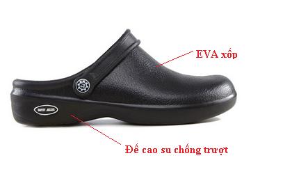 Giày nhựa chống trượt