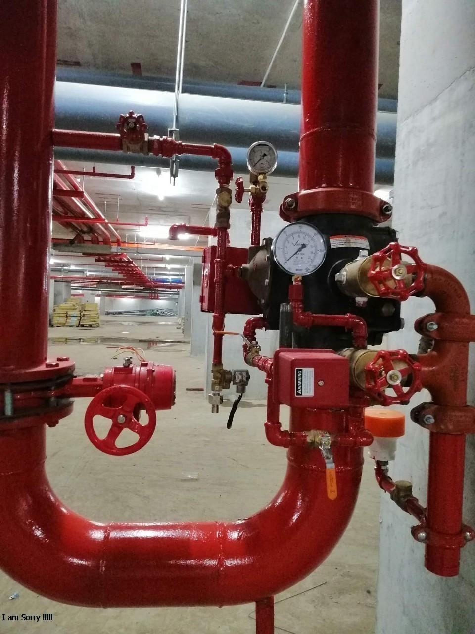 Hệ thống chữa cháy tự động