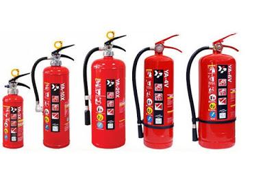 Bình chữa cháy ABC 6kg của Nhật